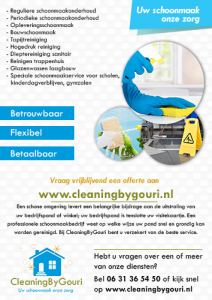 Flyer CleaningByGouri